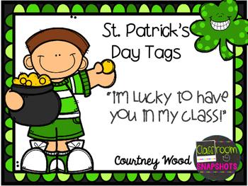 St Patricks Day Tags FREEBIE