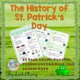 The History of St. Patrick's Day Task Card Webquest