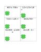 St. Patricks Day Task Cards, Print and Laminate