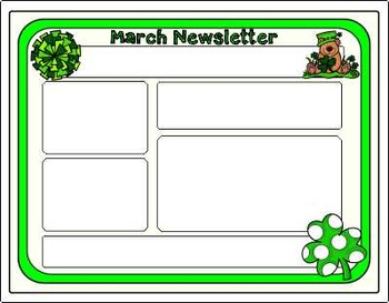 Dollar Deal ~ St. Patrick's Day ~ Editable Teacher's Collection