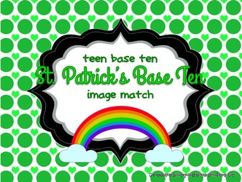 St. Patrick's Day Teen Base Ten