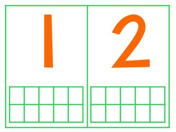 St. Patrick's Day Ten Frame Math Center