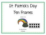 St. Patrick's Day Ten Frame Games