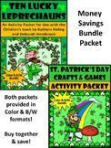 Ten Lucky Leprechauns & St. Patrick's Day Crafts Bundle - Color&B/W