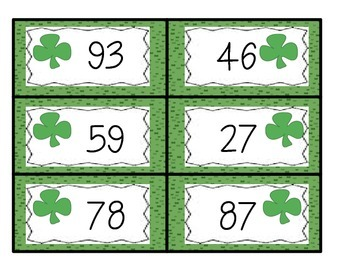 Place Value Center St. Patrick's Day