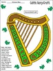 St. Patrick's Day Activities: The Celtic Harp Activity Packet