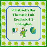 St Patrick's Day Thematic Unit (Primary)  for Very Busy Teachers