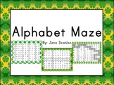 St. Patrick's Day Theme Alphabet Mazes
