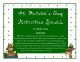 St. Patrick's Day Themed Activities Bundle