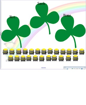 St. Patrick's Day Themed Attendance/Lunch Count