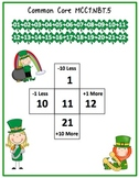 St. Patrick's Day Themed Common Core Numbers and Base Ten Math Unit