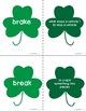 St. Patricks Day Themed Homophones Word List 2, Word Work, Games, Activities