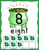 St. Patrick's Day: Number Posters 0-20 with Ten Frames
