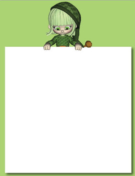 St Patrick's Day Themed PowerPoint Background OK for Commercial Use