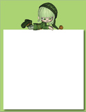 St Patrick's Day Themed PowerPoint Background OK for Comme