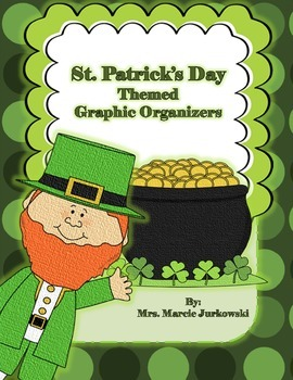St. Patrick's Day Themed Reader's Response Printable Graphic Organizers