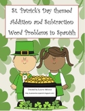 St. Patricks Day Themed Spanish Word Problems