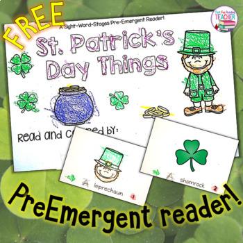 St. Patrick's Day Reader - free!