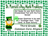 St. Patrick's Day Third Grade Math Review