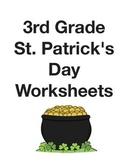 St. Patrick's Day Third Grade skills review