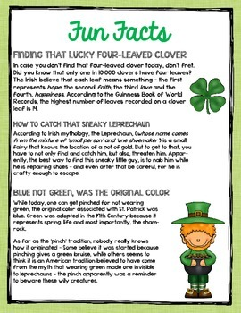 St. Patrick's Day Through Primary Sources: A What Were They Thinking? Activity