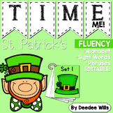 Dolch Word Fluency:  Time Me!  St Patrick's Day