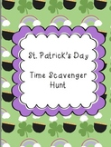 St. Patrick's Day Time Scavenger Hunt