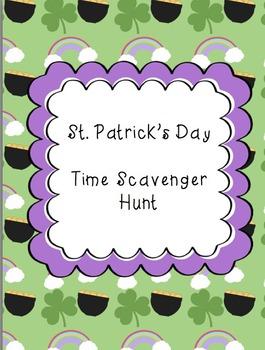 St. Patrick's Day Time Scavenger Hunt