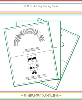 St. Patrick's Day Tracing Books