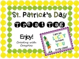 St. Patrick's Day Treat Tag