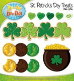 St. Patrick's Day Treats Clipart {Zip-A-Dee-Doo-Dah Designs}
