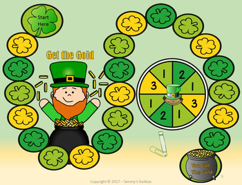 St. Patrick's Day Game and Activity for Reading Sight Words