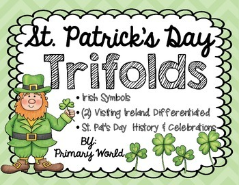 St. Patrick's Day Activities Trifolds