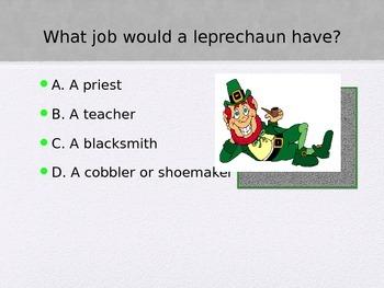St. Patrick's Day Trivia Game