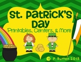 St. Patrick's Day Unit {Centers, Printables, & More}