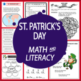 St. Patrick's Day Math & Literacy National Holidays+10 St. Patrick's Activities!