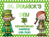 St. Patrick's Day Unit Plan