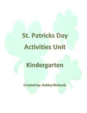 St. Patrick's Day Unit activities