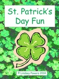 St. Patrick's Day Unit for Kindergarten