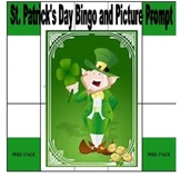 St. Patrick's Day Vocabulary Bingo and Picture Writing Prompt