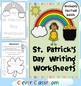 St. Patrick's Day Vocabulary Bundle Worksheets Cards and Games - 80 pages