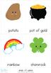 St Patrick's Day Vocabulary Cards