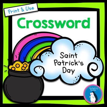 St. Patrick's Day Vocabulary Crossword Puzzle