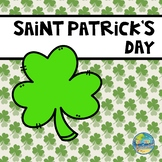 St. Patrick's Day Vocabulary Word Cards and Days of the Week Cards
