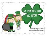 St. Patricks Day Vocabulary Words ABC Order