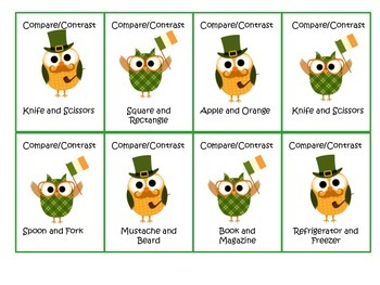 St. Patrick's Day Vocabulary and Figurative Language Unit
