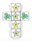 St. Patricks Day - Vowel Combination Game