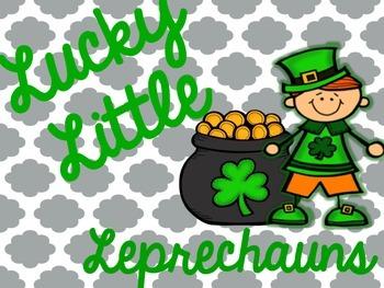 St. Patrick's Day Vowel Teams
