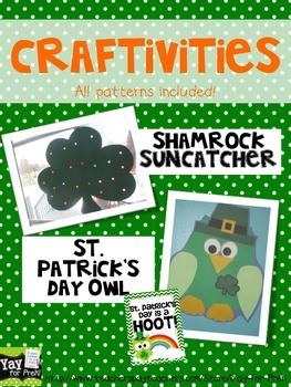 St. Patrick's Day Week in PreK and Kindergarten (rainbow fun, too)!