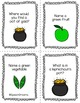 St. Patrick's Day Wh questions {use with any therapy game